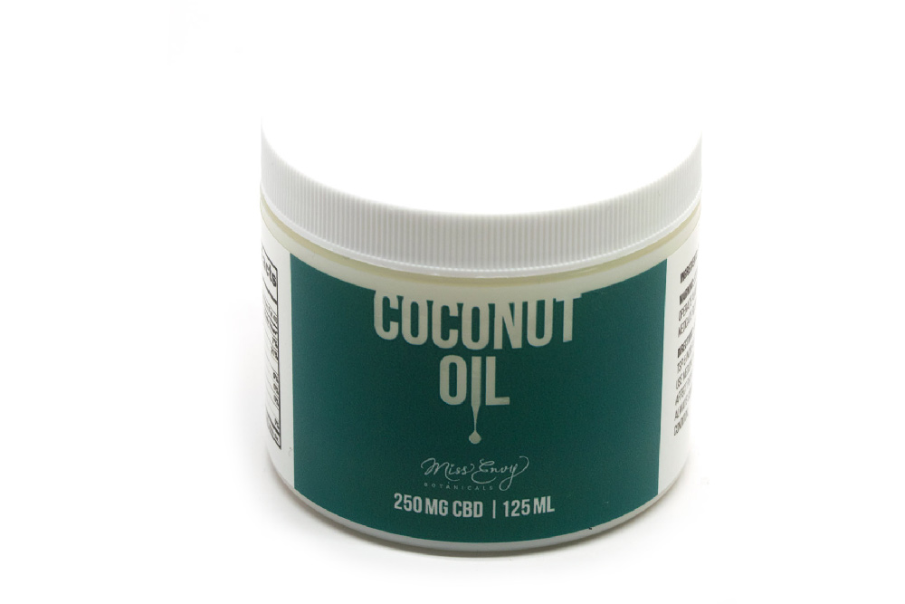 Infused Coconut Oil | 250mg CBD