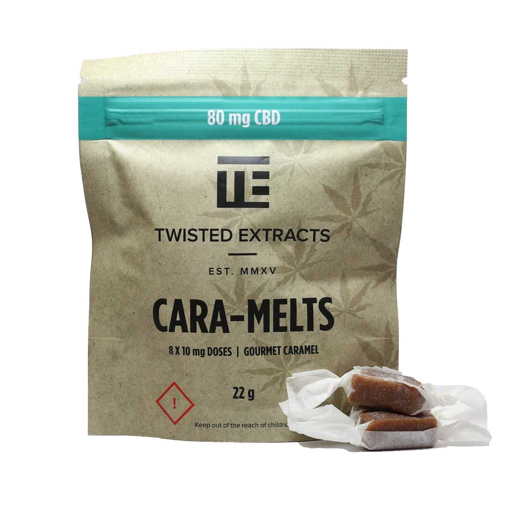 Twisted Extracts | Cara-Melts | 80mg CBD